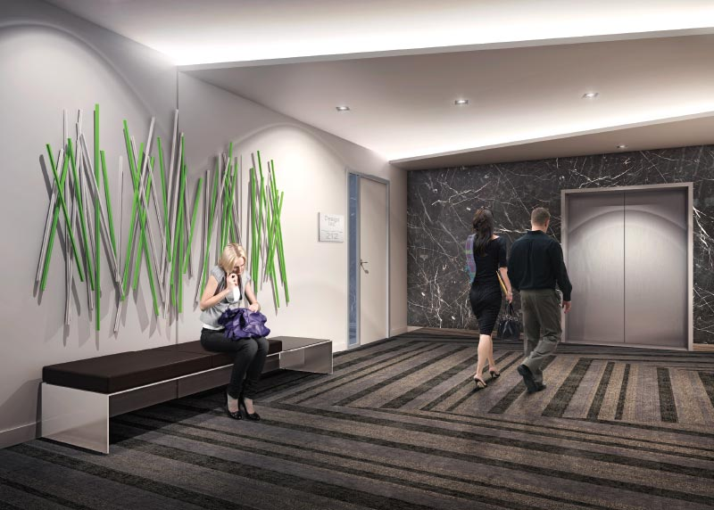 117 Peter St interior rendering